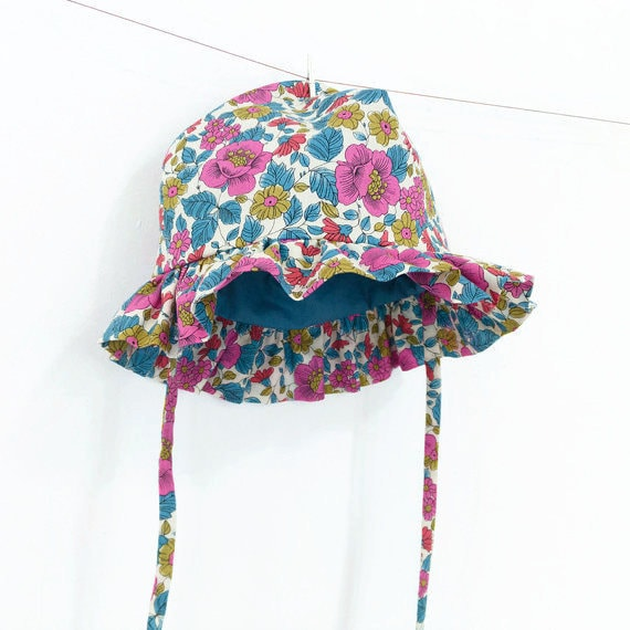 baby sun hat pattern pdf sewing pattern instant download