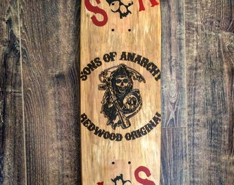 Sons of Anarchy skateboard Board