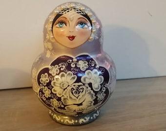Very cute matryoshka nesting doll 10 PCs