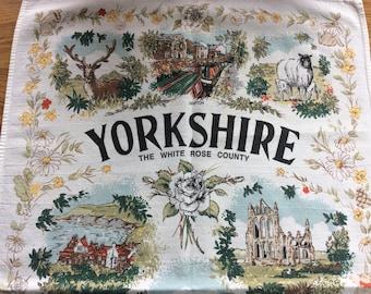 Yorkshire tea towel / White Rose County