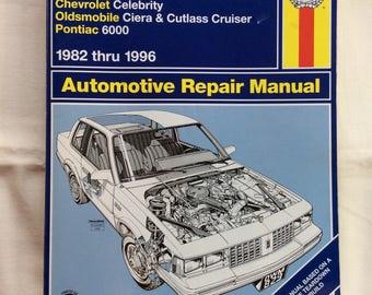 General Motors Repair Manual / 1982-1996