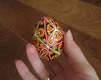 Hand painted Easter eggs.Pysanka.Ukrainian real Easter eggs.Batic eggs.Chicken pysanka.Ukrainian egg. Free shipping