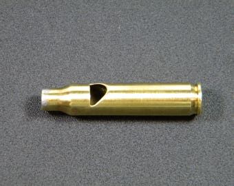 223 bullet cartridge whistle, keychain, key ring, zipper charm, zipper pull, necklace, ammo keychain