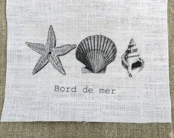 fabric sewing shells