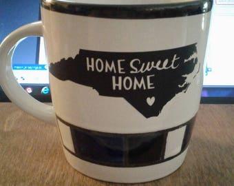 NC vinyl coffee mug