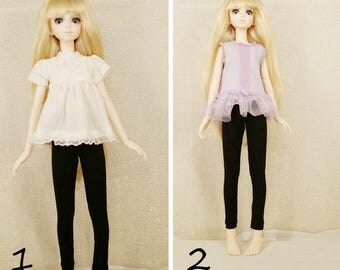 BJD, msd doll outfit,  msd doll dress, msd two piece.