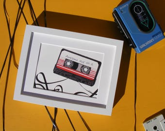 Awesome Mix Vol. 2 | Illustration Print