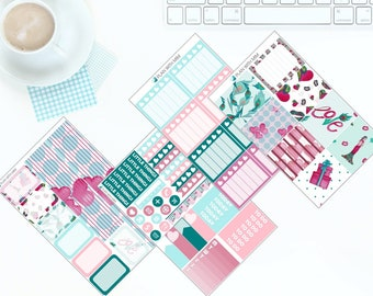 A Little Love - Weekly Kit Stickers for Erin Condren Vertical LifePlanner