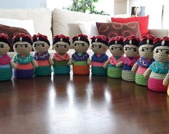 Frida Kahlo crochet/crochet pattern