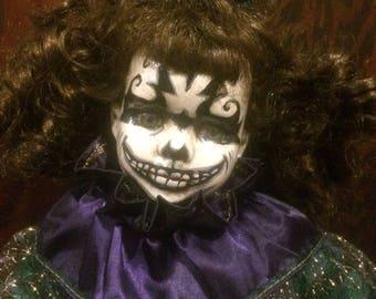 Custom Painted Clown