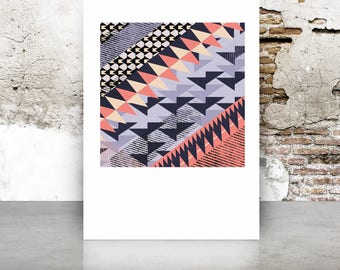 Prints Wall Art | Limited edition print |Contemporary wall art | Trend print | Unique Print | bold home decor | Geometric Gifts  | art