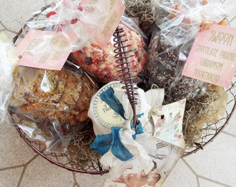 Father's Day Gift Basket ~ Gourmet Food Gift Basket ~ Gift for Dad ~ Shortbread Cookies ~ Jam Gift Basket