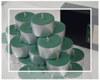 Natural Soy Beeswax Tealight Candles (Tealights) : Frankincense & Myrrh