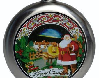 Santa Hip Flask (5oz)