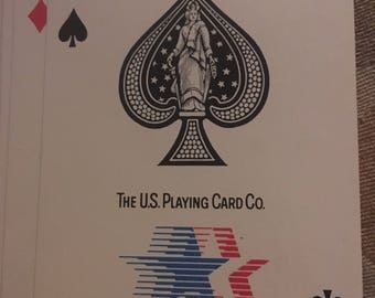 Vintage 1984 Olympic Games- Stars In Motion Playing  Cards - Copyright 1980 - International Olympic Games Committee Promotion
