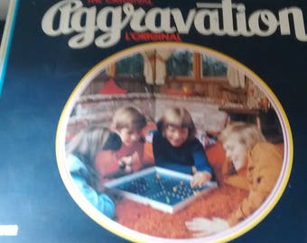 Vintage 1976 The Original Aggravation Family Board Game Lakeside