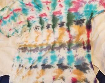 Stripped snow dye