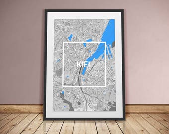 Kiel-framed City-digital printing