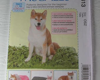 McCall's Pattern 7613 Pet Beds