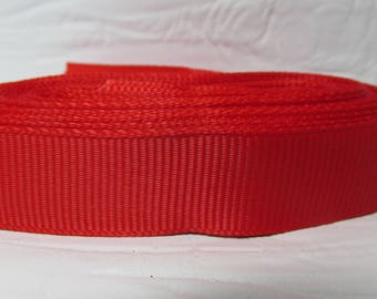 """Grosgrain ribbon 5/8"""" Watermelon (red) sold by the yard"""