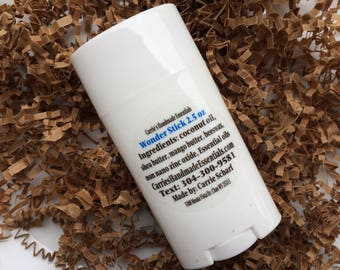 Friction Stick - Anti Chafing Stick - All Natural Deodorant -  Solid Lotion with Zinc Oxide - Lotion Stick - Dry Skin Solid Lotion Stick