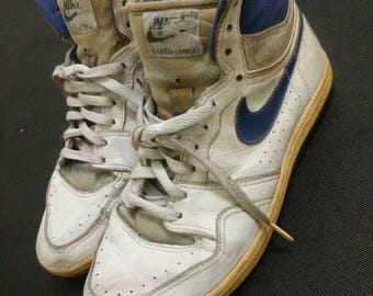 Vintage 80's Nike Court Force Shoe Classic Basketball OG 1987 All Leather