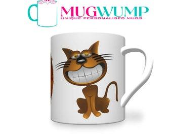Personalised Cat Mug. Funny Cat Mug. Own Cat On A Mug. Personalised Mugs.  Photo Mugs.