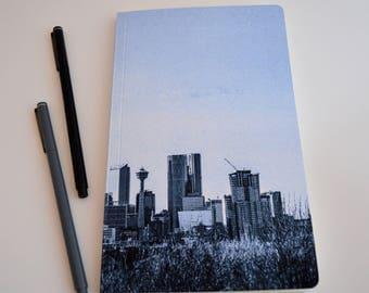 Calgary Skyline Notebook Journal