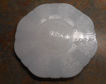 Monax American Sweetheart Salver Plate by MacBeth Evans - Hard to Find