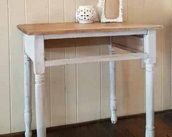 Primitive End Table