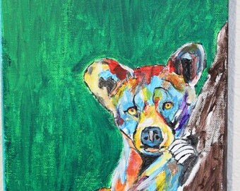 Baby Bear Painting