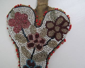 American Indian Beadwork Scissors holder