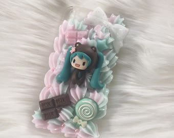 miku decoden case for iphone 5/5s/se