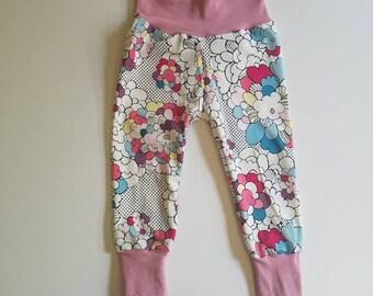 baby leggings - toddler leggings - baby pants - floral leggings - sale
