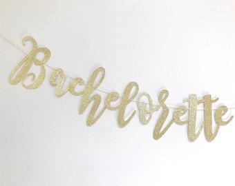 Bachelorette Banner, Bachelorette Party, Bachelorette Gift, Party Banner