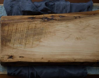 Live Edge red maple Cutting Board