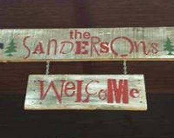 Custom Handmade Wooden Signs