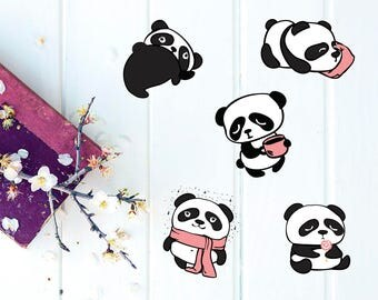 Ziggy the Panda - DIE CUTS