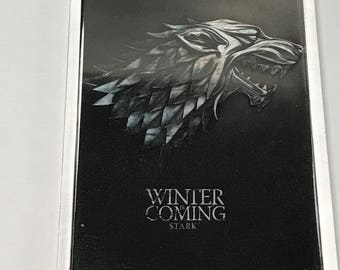 Game of Thrones Houses Clear Acrylic Fridge Magnet White Board Magnet