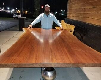 Walnut Live Edge Eclipse Table