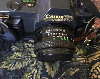 Vintage Canon T50 SLR camera