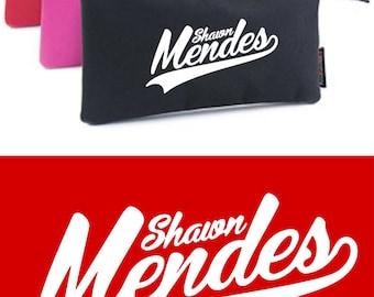 Shawn Mendes pencil case Triple Pocket