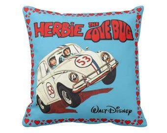 Herbie the Lovebug Cushion