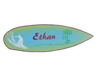 Ethan - Decorative surfboard