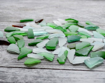 65 Oblong Sea glass Triangle Shaped Sea Glass Elongated Sea glass Bulk sea glass Genuine Sea glass jewelry Beach glass Jewelry Craft Supply