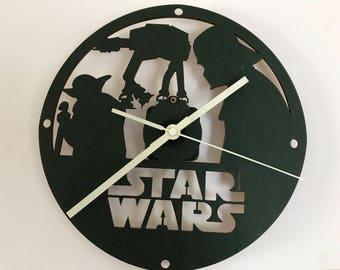STAR WARS  CLOCK