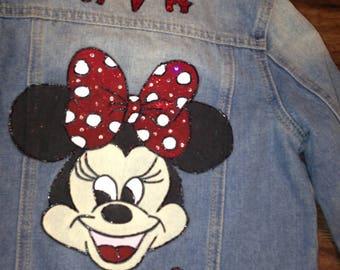 Personalised Hand Painted Denim Jacket