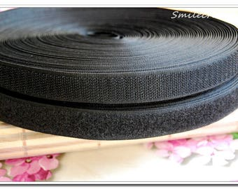 2 meters x 2cm Velcro tape Velcro sewing type black Velcro REF 1919