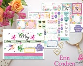 Hummingbird May 2018 Monthly View Sticker Kit | Erin Condren | Happy Planner