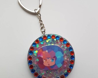 Steven Universe Garnet, Amethyst or Pearl Keychain